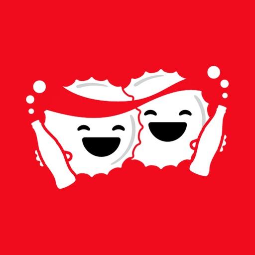 Coca-Cola Emoji Keyboard iOS App