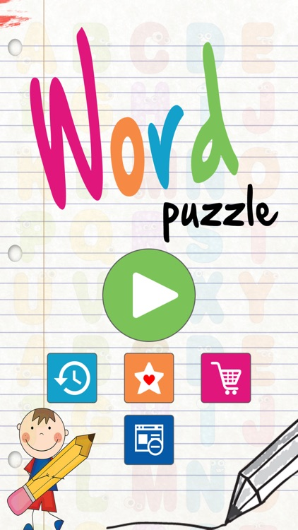 Word Puzzle - make words from letters by Unibera Softwares