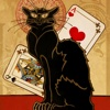 Chat Noir Black Cat Solitaire Club - Grand Cabaret World Series
