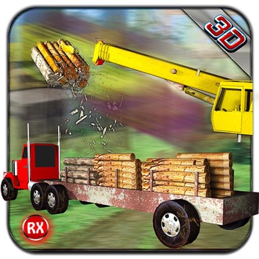 Transporter Truck Jungle Wood - Timber Trailer iOS App