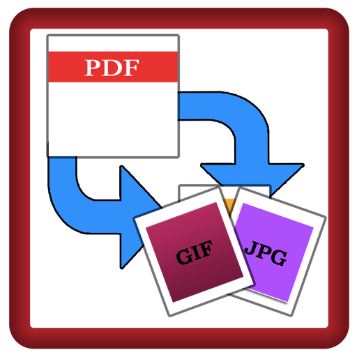 PDF 2 Image Converter : Convert PDF into JPG / PNG Easily, Create Animated Gif Files from PDF easily