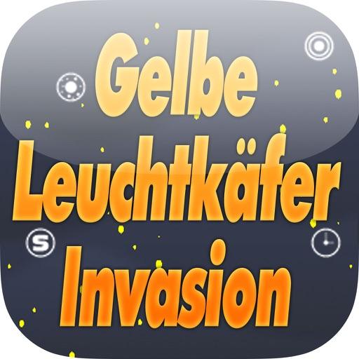 Gelbe Leuchtkäfer Invasion - Weiche Den Leuchtkäfern Aus iOS App