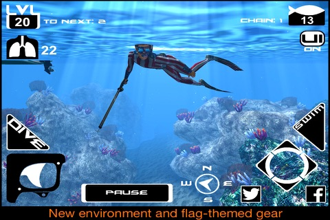 Freediving Hunter screenshot 1