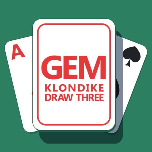 Gem Klondike Draw Three iOS App