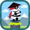 Spring Ninja Panda: Mr Dr Panda Hero Jump Out Game!