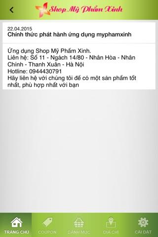 Shop Mỹ Phẩm Xinh screenshot 3