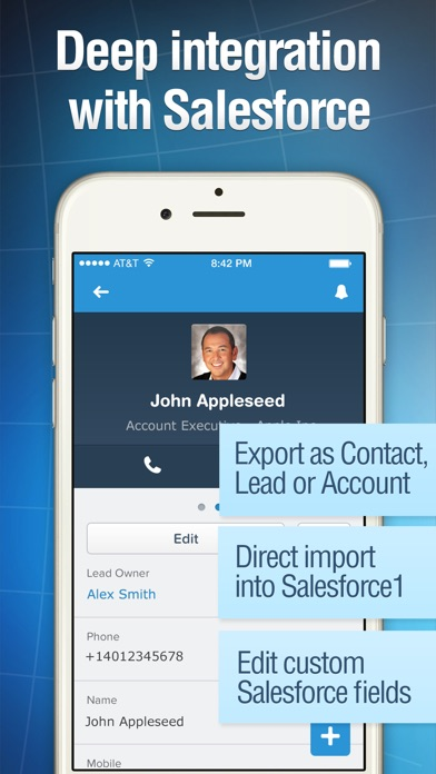 Business card reader app storessa iphone nyttkuva 5 reheart Choice Image