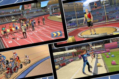 Athletics 2: Summer Sports screenshot 2
