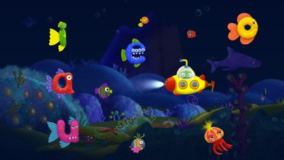 Tiggly Submarine: Preschool ABC Game screenshot two