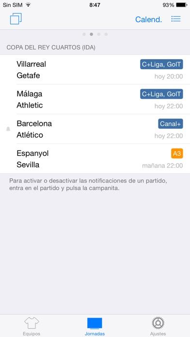 download Goles Messenger - Alertas instantáneas de fútbol apps 3