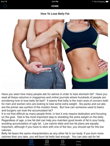 Best way to lose belly fat fast easy effective guide tips to ipad screenshot 1 ccuart Image collections