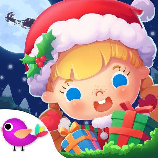 叮叮当 叮叮当 铃儿响叮当 今晚滑雪多快乐 我们坐在雪橇上...... ^_^关注Libii官方微信公众号:libiigame 获取糖糖系列童话故事及更多产品资讯^_^ 哦也~终于盼到圣诞节啦!欣喜激动之余,让我们来帮糖糖一家做好节前准备吧!先打扫打扫房间,再装饰圣诞树、织袜子、点火炉、放唱片等等,每个人都忙得不亦乐乎、累并期待着。哦,对了,别忘了准备可口的食物呀,像姜饼小人、糖果和蛋糕都是不错的选择呢。累了吗,那去阁楼放烟花吧,让美丽的烟火点亮整个星空。宝贝们,想要一睁眼就看到圣诞老人给的惊喜吗?那就赶