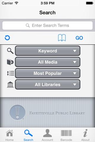 Fayetteville Public iLibrary screenshot 2