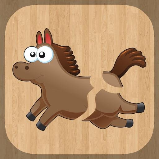 لعبة تركيب صور الحيوانات للأطفال اصوات و اسماء