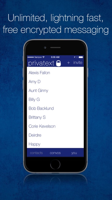 Privatext - Private Text Messaging Screenshots