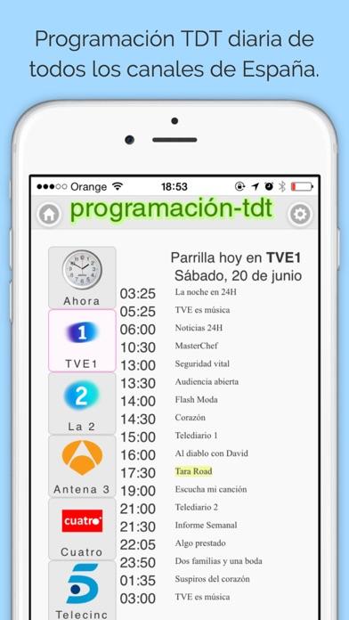 download Programación TDT España apps 0