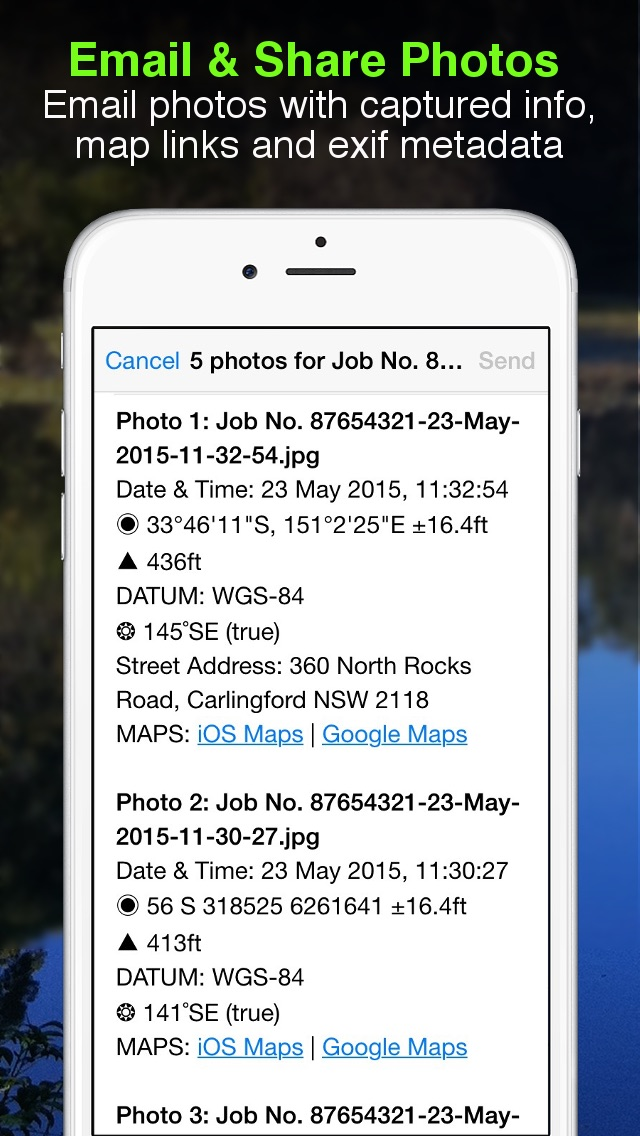 download Solocator - GPS Field Camera to stamp photos with location, direction, altitude, date, time + optional editable notes apps 0