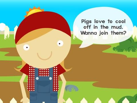 Lily's Farm Animal Stickers Premium Screenshot