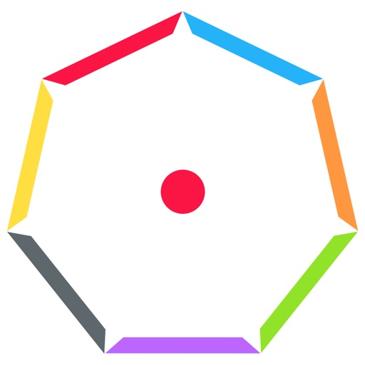 Impossible Bounce - Crazy Ball, A Top Free Circle Dots game! iOS App