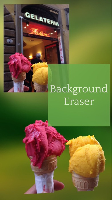 Screenshots of Background Eraser - SuperImpose Photo Editor & Cut Out Image Outline for iPhone