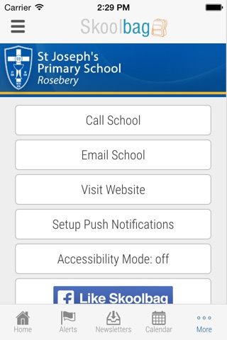 St Joseph's Primary School Rosebery - Skoolbag screenshot 4