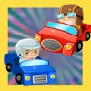 Trovare la Shadow of Animated Car-s in una Baby & Kids Gioco di Puzzle Tricky Per My First Toddler`s App