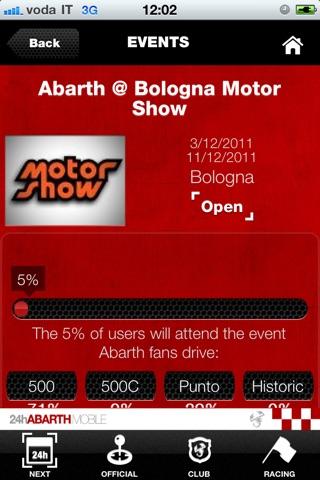 Abarth 24H Mobile screenshot 4