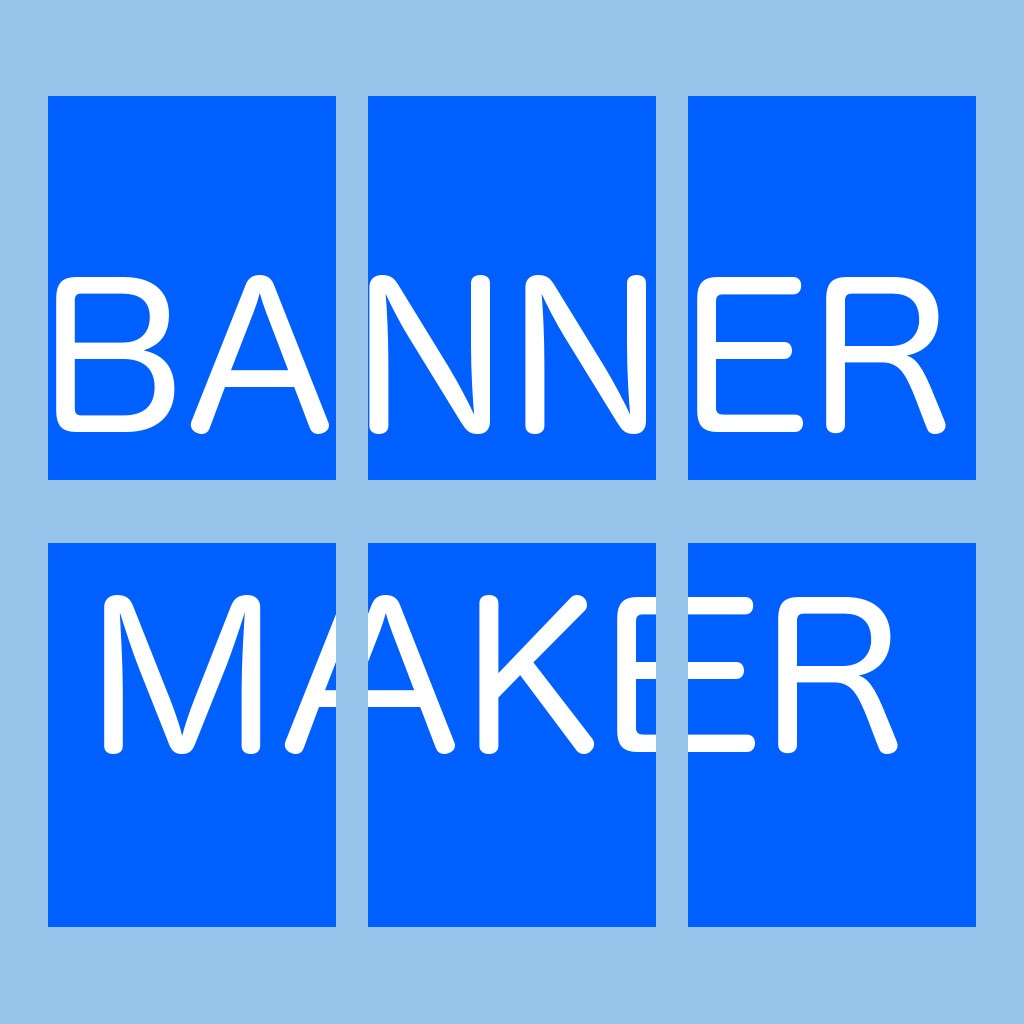 Banner / Poster / Sign Maker & PDF Tiler on the App Store