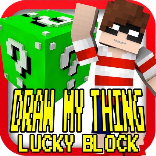 DRAW IT THINGS ( Lucky Block Version ) - Block Mini Game iOS App