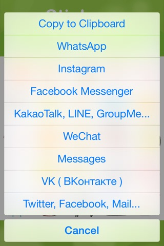 Stickers for Facebook Messenger, WeChat, Viber & WhatsApp...etc screenshot 3