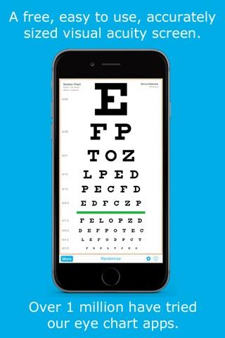 Download Eye Chart Hd Screen Vision With Pocket Snellen Sloan