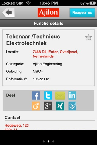 Ajilon Nederland screenshot 4