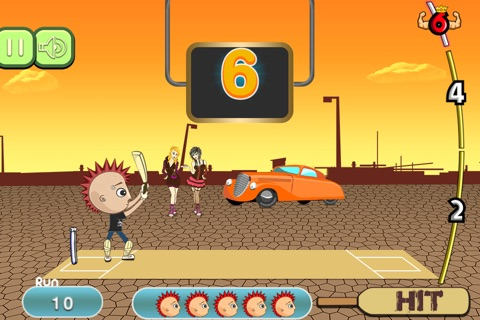 Crazy Kids Cricket Cup Pro - cool world batting challenge game screenshot 2