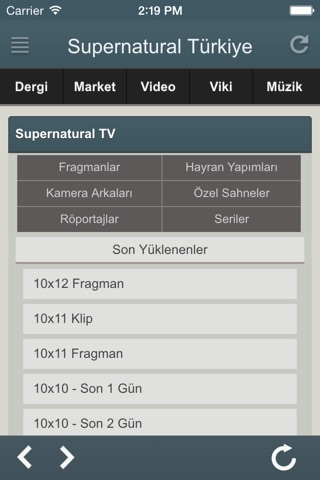 Supernatural Türkiye screenshot 3