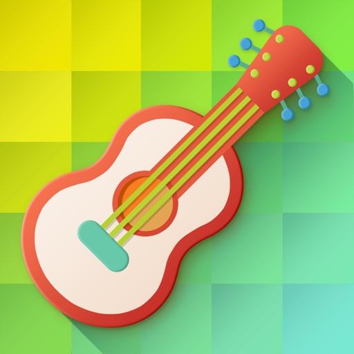 jouets de musique pour b b s guitare avec chansons pour enfants par gismart limited. Black Bedroom Furniture Sets. Home Design Ideas