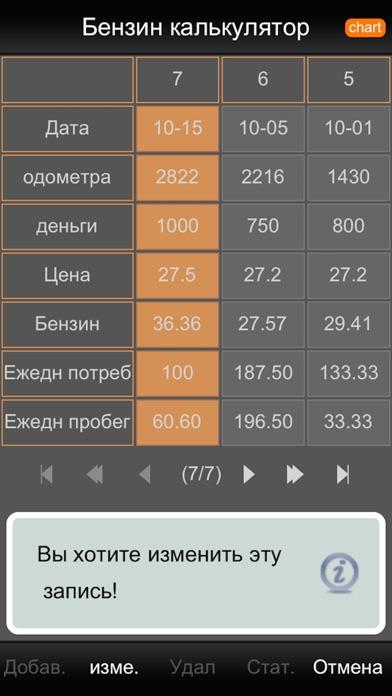 Бензин калькулятор FREE Скриншоты6