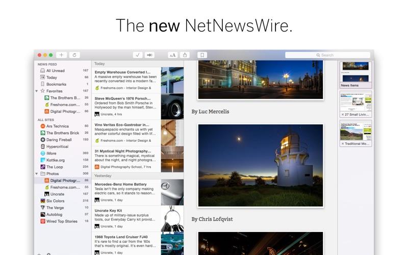 NetNewsWire Screenshots