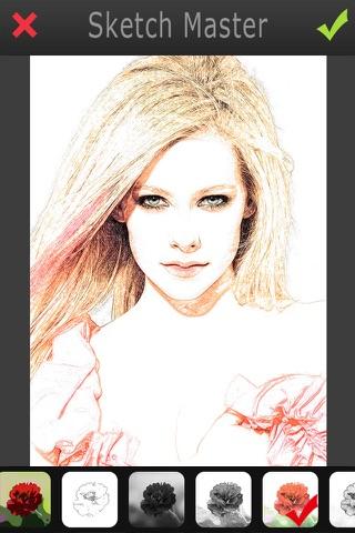 Sketch Master 2 - My Cartoon Brighten Yourself Portrait Photo screenshot 2