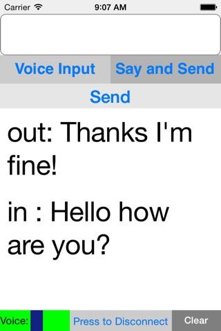 Deaf Hearing Chat screenshot 1
