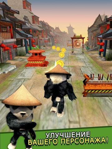 Cartoon Panda Run - бесплатно Карикатура панда Гонки игра Для детей для iPad