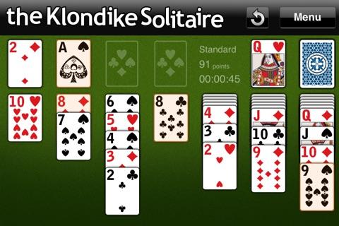 The Klondike Solitaire screenshot 1