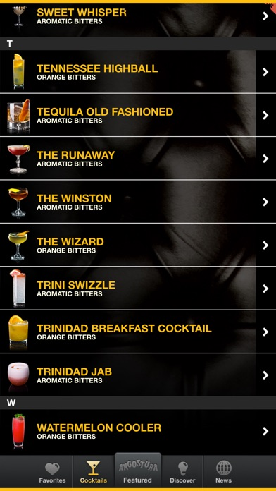 download Angostura apps 2