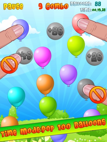 Balloon Mania - Pop Pop Pop Скриншоты9
