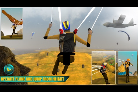 Airplane Skydiving Flight Simulator - Air Flying Stunts screenshot 3
