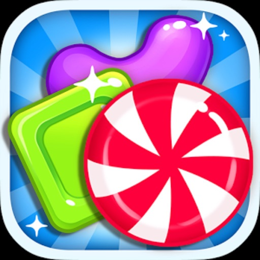 Sweet Candy Jewel Beany-Lollipop Candy Match-3 Puzzle Game iOS App
