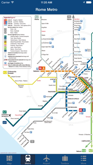 Rome Offline Map City Metro Airport On The App Store - Rome map with airports