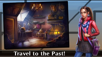 Screenshots of Adventure Escape: Time Library (Time Travel Story and Point and Click Mystery Room Game) for iPhone