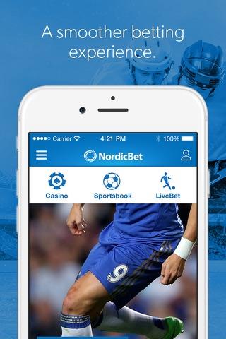 NordicBet Sportsbook & Casino screenshot 1
