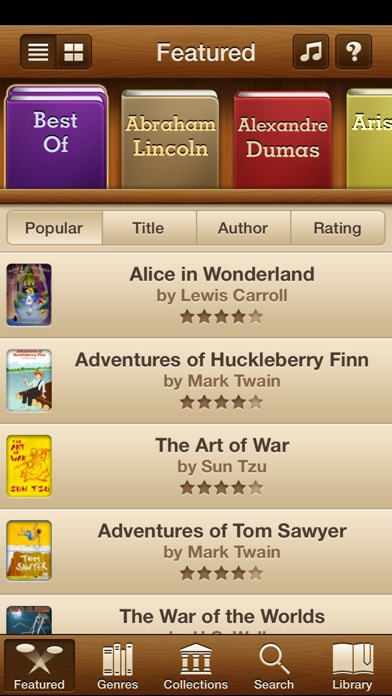 Free Audiobooks Pro review screenshots