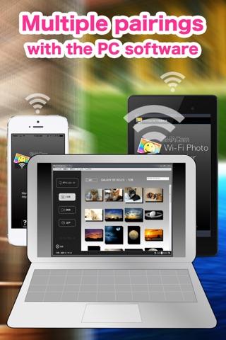 SMACom Wi-Fi Photo Transfer : Send Image and Movie to a PC directly communicate screenshot 4